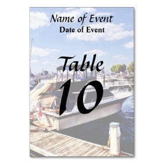 Wiggins Park Marina Table Card