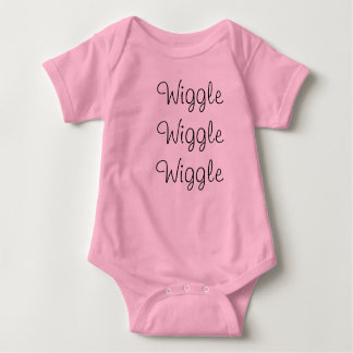 Wiggle Wiggle Wiggle Infant Creeper