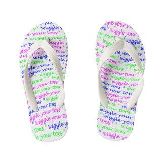 Wiggle Your Toes! -- Kids Flip-Flops Thongs
