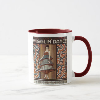 Wigglin' Dance Vintage Songbook Cover Mug