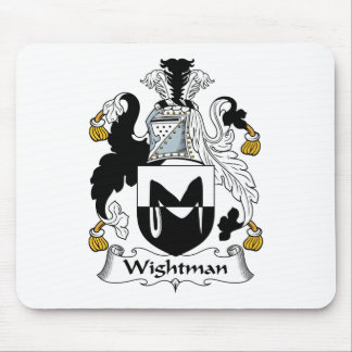 Wightman Family Crest Mouse Pad