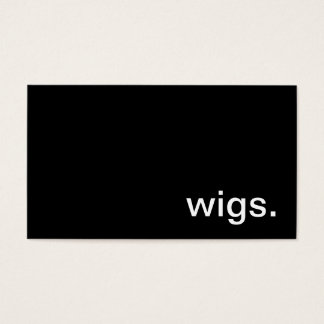 Wigs Business Card