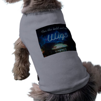 Wigs - for the bold and the bald sleeveless dog shirt