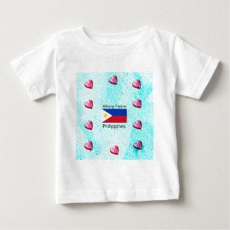 Wikang Filipino Language And Philippines Flag Baby T-Shirt