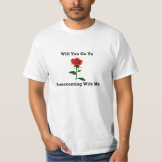 Wil You Go To Homecoming With Me T-Shirt