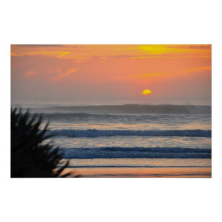 Wilbur by the Sea Palm Sunrise Florida Poster