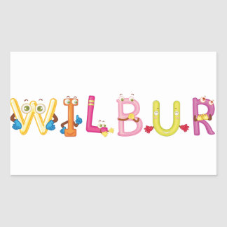 Wilbur Sticker