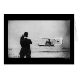 Wilbur Wright Airplane Flight 1909 Card