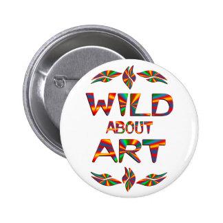 Wild About Art Pins