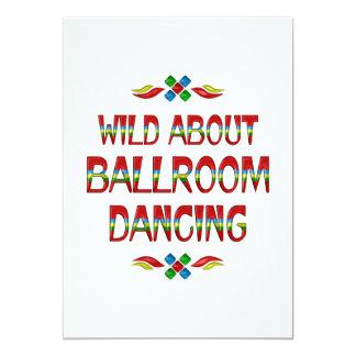 Wild About Ballroom 13 Cm X 18 Cm Invitation Card