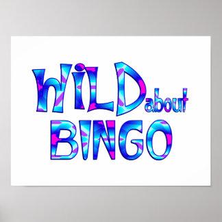 Wild About Bingo Poster