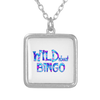 Wild About Bingo Silver Plated Necklace