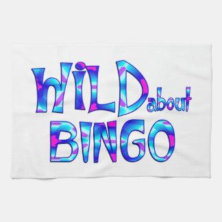 Wild About Bingo Tea Towel
