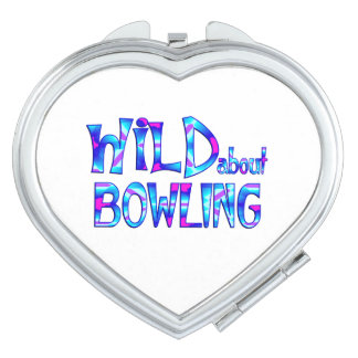 Wild About Bowling Makeup Mirrors