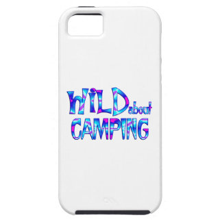 Wild About Camping Tough iPhone 5 Case