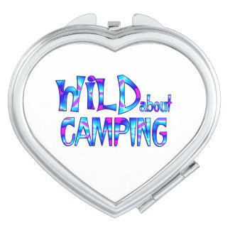 Wild About Camping Travel Mirrors