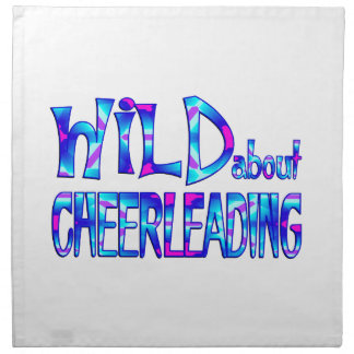 Wild About Cheerleading Napkin