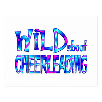 Wild About Cheerleading Postcard
