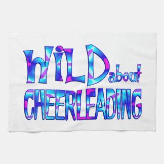 Wild About Cheerleading Tea Towel