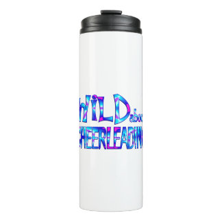Wild About Cheerleading Thermal Tumbler