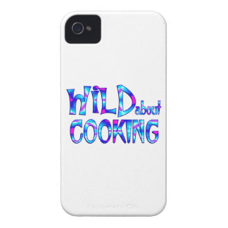 Wild About Cooking iPhone 4 Cases