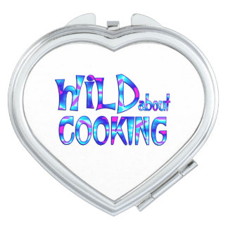 Wild About Cooking Vanity Mirror