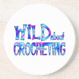 Wild About Crocheting Coaster