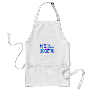 Wild About Crocheting Standard Apron