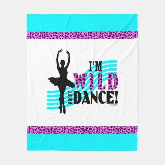 Wild About Dance Fleece Blanket