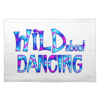 Wild About Dancing Placemat