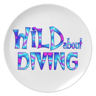 Wild About Diving Plate