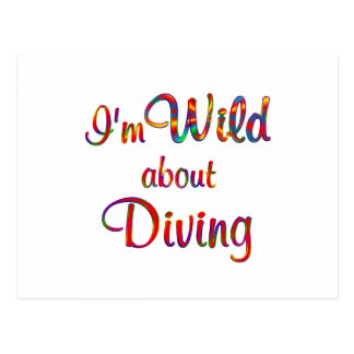 Wild About Diving Post Card