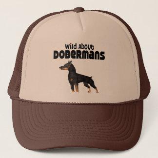 Wild About Dobermans Trucker Hat
