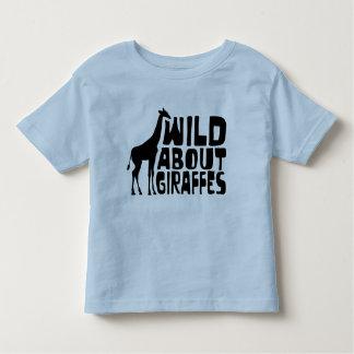 Wild About Giraffes T-shirts