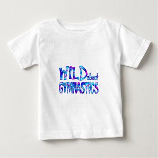 Wild About Gymnastics Baby T-Shirt