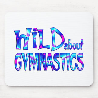 Wild About Gymnastics Mouse Pad