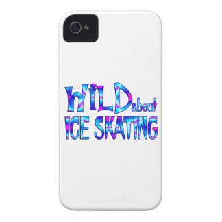 Wild About Ice Skating iPhone 4 Case