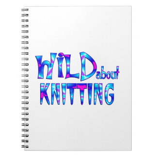 Wild About Knitting Notebook