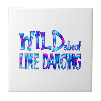 Wild About Line Dancing Tile