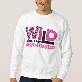 Wild About My Grandkids Sweatshirt