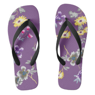 Wild About Purple Thongs