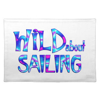 Wild About Sailing Placemat