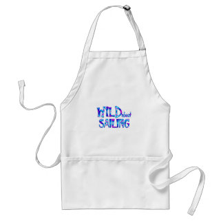 Wild About Sailing Standard Apron