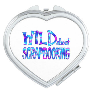 Wild About Scrapbooking Compact Mirrors