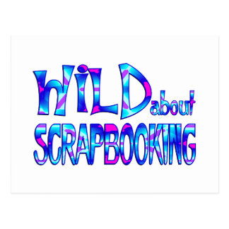 Wild About Scrapbooking Postcard