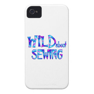 Wild About Sewing iPhone 4 Case-Mate Case