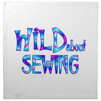 Wild About Sewing Napkin