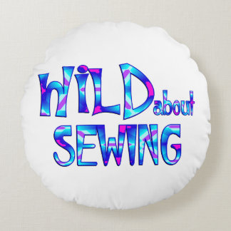 Wild About Sewing Round Cushion