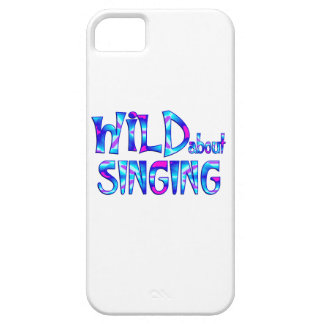 Wild About Singing iPhone 5 Cover