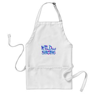 Wild About Singing Standard Apron